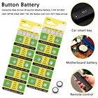 20pcs AG3 1.55V Button Cell Li-ion Watch Batteries LR41 LR736 V3GA SR41 192 392 Batteries Colorful Lamp Chain Finger Light