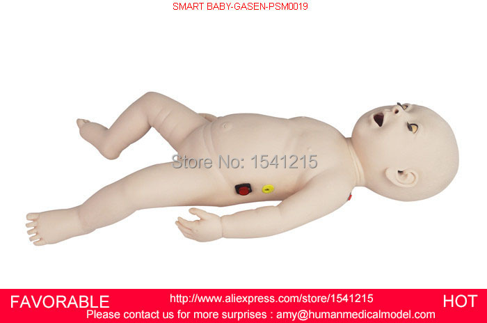 NURSING TRAINING SIMULATOR/CHILD/BABY/INFANT CPR NURSING MANIKIN,INFANT FIRST AID MANIKIN/MODEL,SMART BABY-GASEN-PSM0019