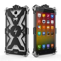 For Xiaomi Redmi Note Phone Cases Original Simon Design Metal Aluminum Anti Knock Armor Thor Series