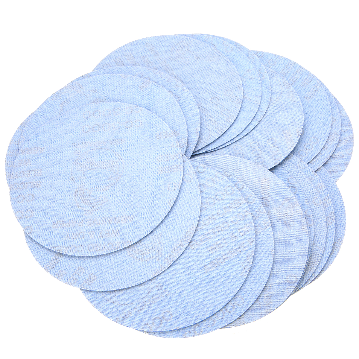 20Pcs 6 Inch 3000 Grit Sanding Discs Polishing Sanding Pad Sandpaper 150mm Grinder Disc For Woodworking Sander Disc