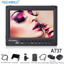 Feelworld A737 7 4K HDMI On-camera Monitor with Full HD 1920x1200 Aluminum Design IPS Wider View Angle