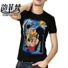One Piece Luffy Roronoa Zoro Nami T shirt