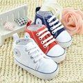 Весной 2016 Ребенка малыша Первые Ходоки мягкой подошвой prewalker детская Обувь, новорожденных мальчиков противоскользящие bebe sapatos возраст 0-18 месяцев бренд