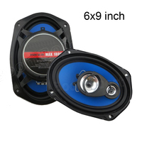 Top Quality 2 Pcs 2 Way 2x180W 6x9 Inch Car Audio Stereo Speakers Coaxial Car Speaker