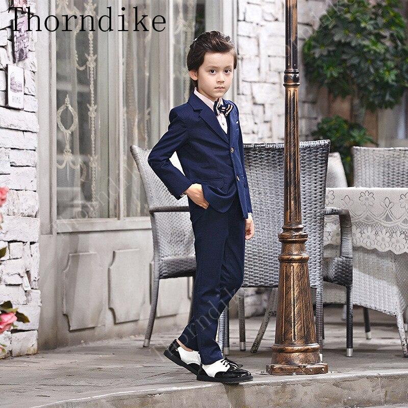a2beaf29876b 3 As Pezzi Di Della Si La Ragazzi Per Cappotto Bambino Del Ragazzo Giacca  Pantaloni Abito Molla Formale Giacche ...