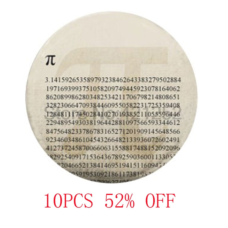 pi Pi Maths glass cabochon necklace keyring bookmark cufflink earring ...