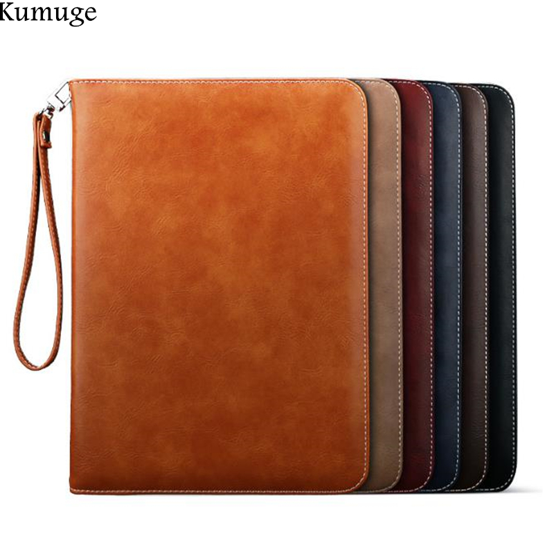 цена For iPad Pro 10.5 Case Luxury PU Leather Slim Smart Tablet Flip Stand Cover for 2017 New Apple iPad Pro 10. 5 inch Capa Para+Pen