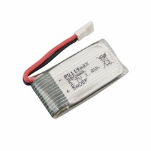 3 7V 380mah lithium font b battery b font for SYMA X51 remote control helicopter drone