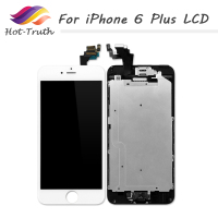 Hot Truth 10PCS Factory Wholesale Price For IPhone 6 Plus LCD Display Touch Screen Digitizer Assembly