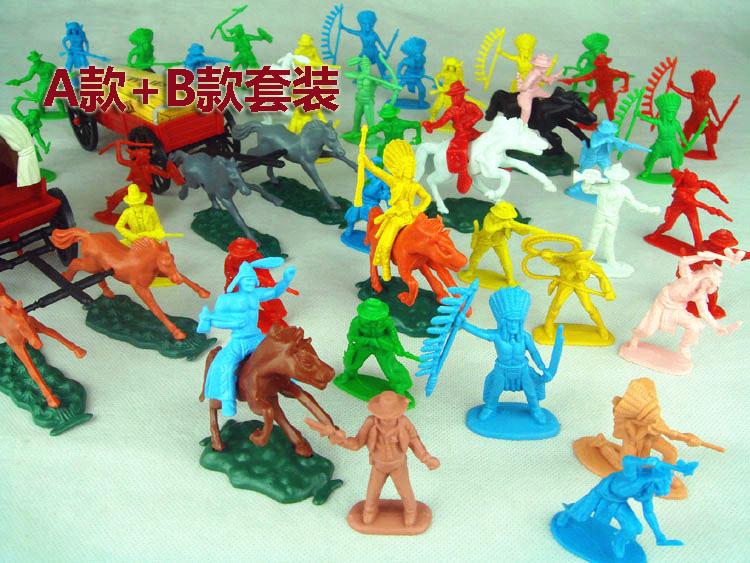 Figurine en plastique 1:35 ensemble de modèles de soldat indien