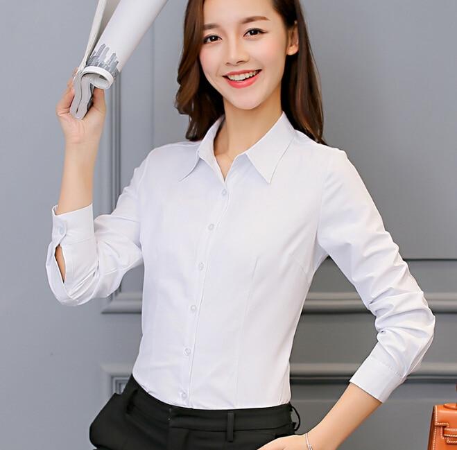 check out ee5e2 f53bc Camicia bianca Abbigliamento Donna Manica Lunga Camicia Camicia di seta  Coreano Camicia Casual Moda rosa Top abbigliamento femminile in Camicia  bianca ...