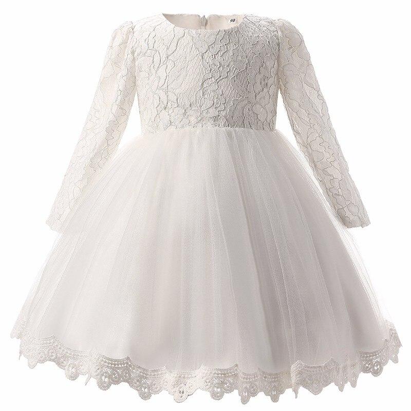 1d11d16073a 2019 Winter Newborn Dress For Baby Girl Christening Gown 1st ...