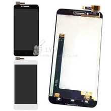 Black White LCD TP for Lenovo Vibe C A2020 A2020a40 LCD Display Touch Screen Digitizer Assembly