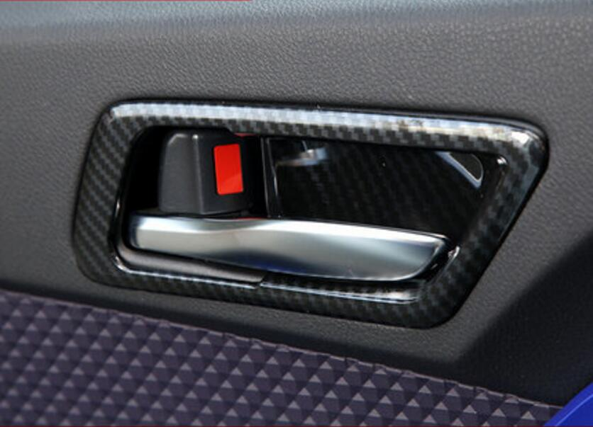 Interior Accessories Automobiles & Motorcycles Jinghang Abs Car Interior Inner Door Bowl Molding Cover Trim 4 Piece For Toyota C-hr Chr 2017 2018 2019 Providing Amenities For The People; Making Life Easier For The Population