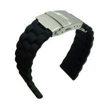 aa7535d5f80 Borracha de Silicone Watch Band 20mm 22mm Pulseira de borracha Pulseiras de  Relógio Timex + Ferramenta de substituição para Sams.