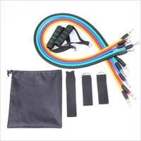 Novo Peito Expander Tubos de Fitness Pilates Resistance Band CrossFit Equipamento de Treino De Exercício de Látex Puxar Corda Treinamento Prático