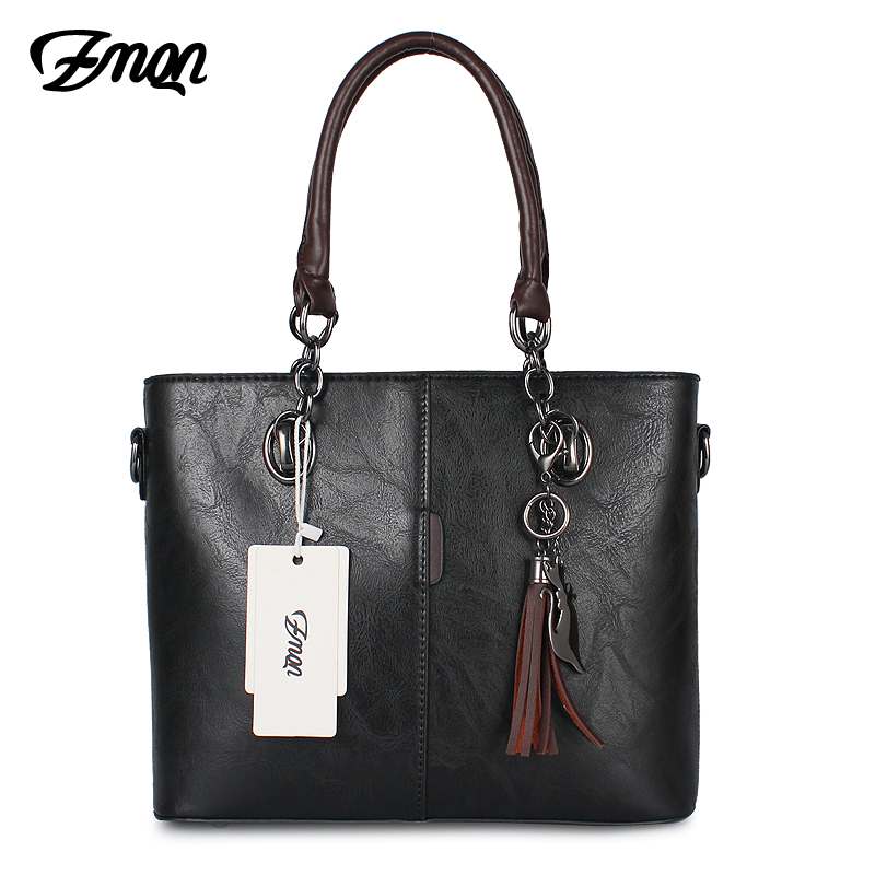 2015d8f71e27 ZMQN Luxury Handbags Women Bag Designer 2018 Big Ladies Hand Bag For Women  Solid Shoulder Bag Outlet Europe Leather Handbag C641