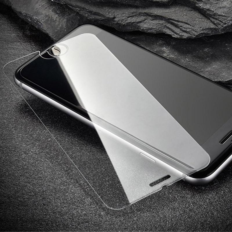 imágenes para Vidrio templado para 5c iphone 7 6 s 6 más 5S sí 4S echt glas displayschutz schutz displayschutzfolien 200 unids/lote protector de pantalla