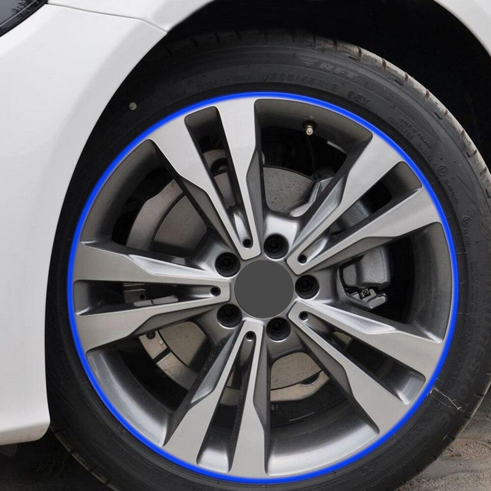Автомобильные аксессуары, клейкая лента для обода автомобиля, стикер для Ford mondeo 4 Mazda 6 3 Passat b6 b5 Tiguan Skoda Rapid Kodiaq livan x60