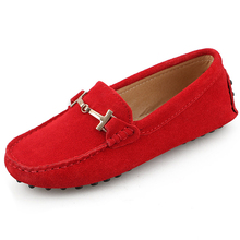 Shoes Women 100% Genuine Leather Women Flat Shoes Moccasins Spring Autumn Casual Women Shoes Loafers Flats Fashion Driving Shoes
