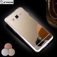 Case for Samsung Galaxy J3 J2 J5 prime Case for SAMSUNG J5 J7 J1 2016 J3 J3109 Case Luxury NEW Mirror Clear TPU Phone Case Cover