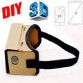 Google Картон VR Коробки DIY VR Виртуальная Реальность 3D Очки магнит VR Контроллер Коробки 3D VR Очки для iPhone Android Samsung