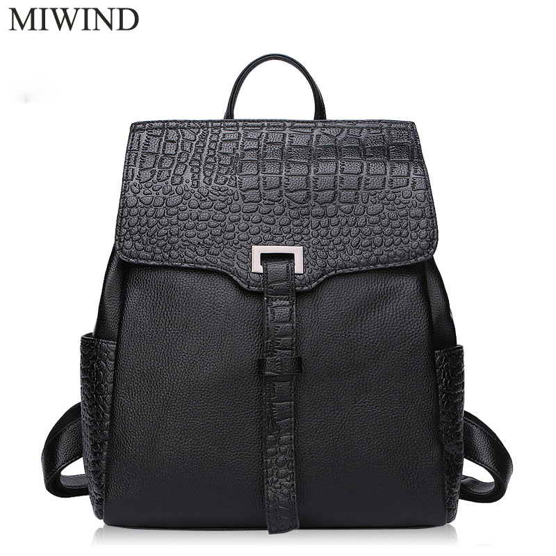 MIWIND Backpack Natural Soft Real Leather Backpacks Genuine First Layer Cow Leather Top Layer Cowhide Women Backpack WUB083MIWIND Backpack Natural Soft Real Leather Backpacks Genuine First Layer Cow Leather Top Layer Cowhide Women Backpack WUB083