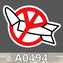 Bevle A0494 Anti Atomkriegs Frieden Wasserdichte Kühle DIY Aufkleber Laptop Gepäck Skateboard Kühlschrank Auto Graffiti Cartoon Aufkleber