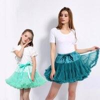2019 New Summer Girls Skirts Baby Girls skirt Tutu Fluffy Children Adult Ballet Kids Tulle Pettiskirt Dance Princess Party Skirt