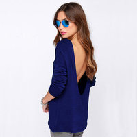 Clothing Womens Summer Shirts Fashion Summer t shirt Sexy Backless Tops Open Back Casual Backless T-shirts Y0902-46D