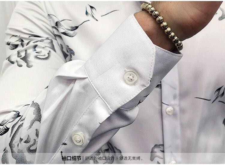 Vereinigt Leopard Splice Drucken Smoking Hemd Männer Nacht Club Party Mode Hemd Der Halben Hülse Slim Fit Kleid Shirts Mann Camisa 2019 Sommer Hemden