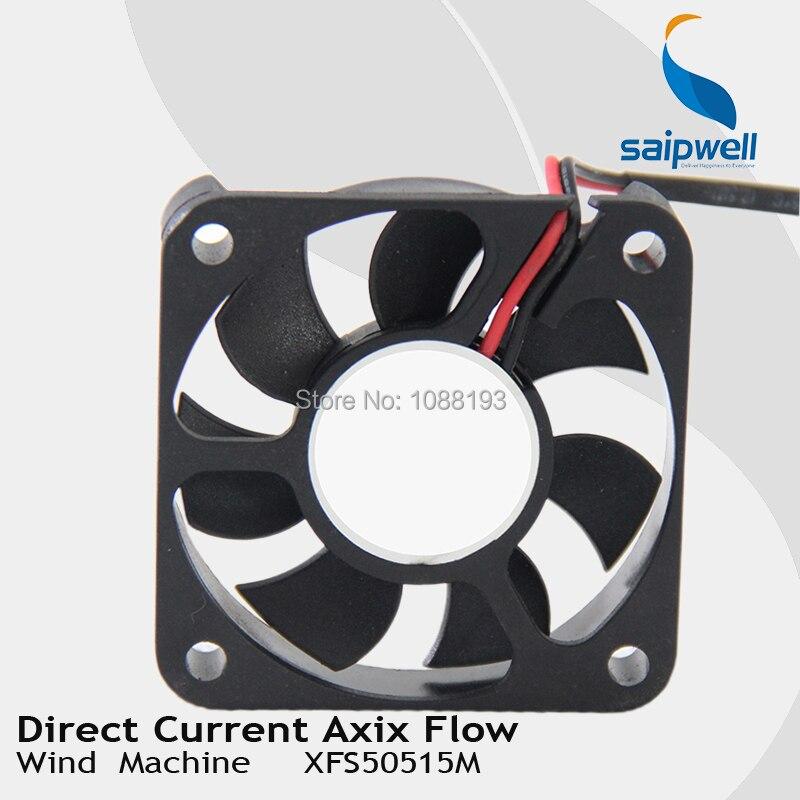 50*50*15mm corriente CC axix flujo máquina de viento del ventilador ...