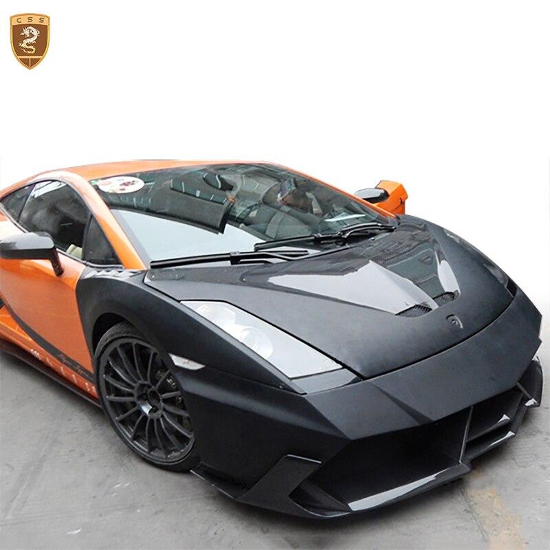 Carbon Fiber Vorne Motor Hauben Decken Haube Abdeckung Für Lamborghini Gallardo LP550 LP560 Auto Styling Auto Geändert Zubehör