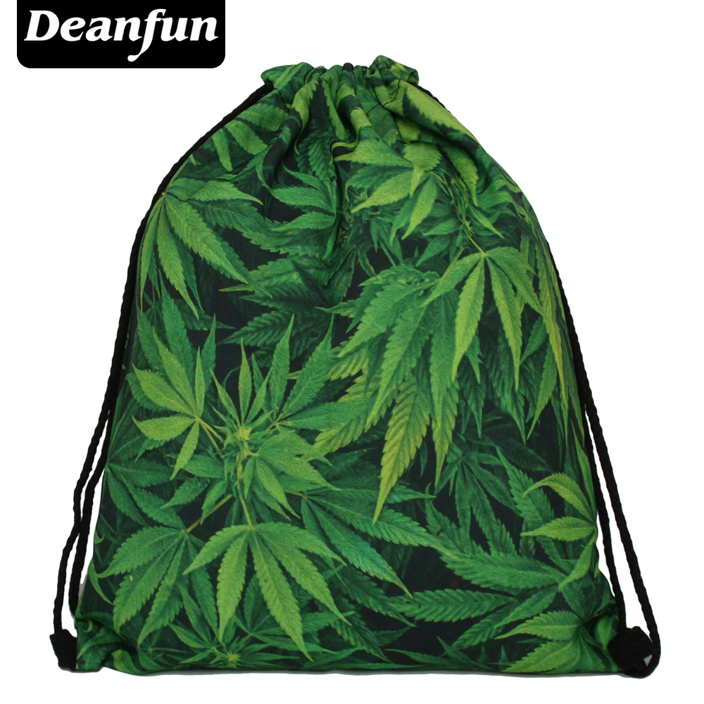 Deanfun Women Backpack 3D Printing Escolar Backpacks Travel Softback Feminina Mochila Drawstring Bag S105 polygon wolf 3d printing fashion women party bolsa feminina drawstring bag travel backpack mochila man s bags