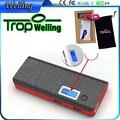 Tropweiling caixa bonito diy banco de potência 10000 mah 18650 banco de potência portátil usb bateria carregador portátil para telefones