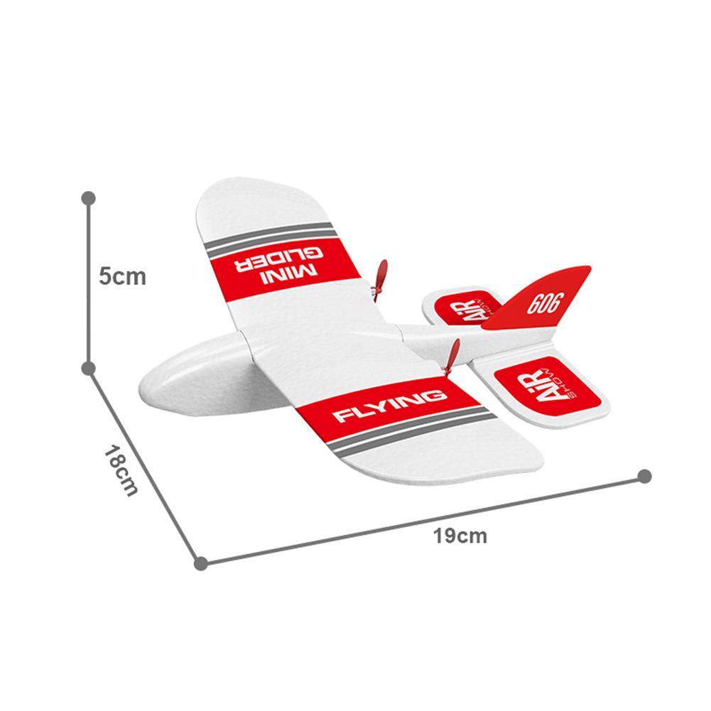 Image 5 - 2019 KFPLAN KF606 2.4Ghz 2CH EPP Mini Indoor RC Glider Airplane Builtin Gyro RTF Good Flexibility, Strong Resistance To Falling-in RC Airplanes from Toys & Hobbies