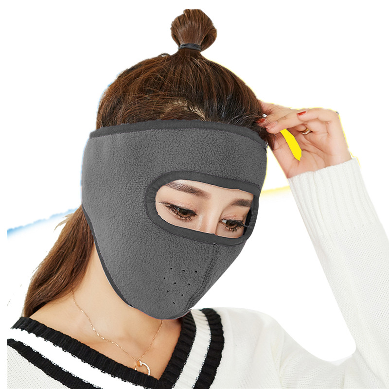 2Pieces/Lot Windproof Cycling Face Mask Winter Warmer Fleece Balaclavas Bike Sport Scarf Mask Bicycle Snowboard Ski Mask AD0661