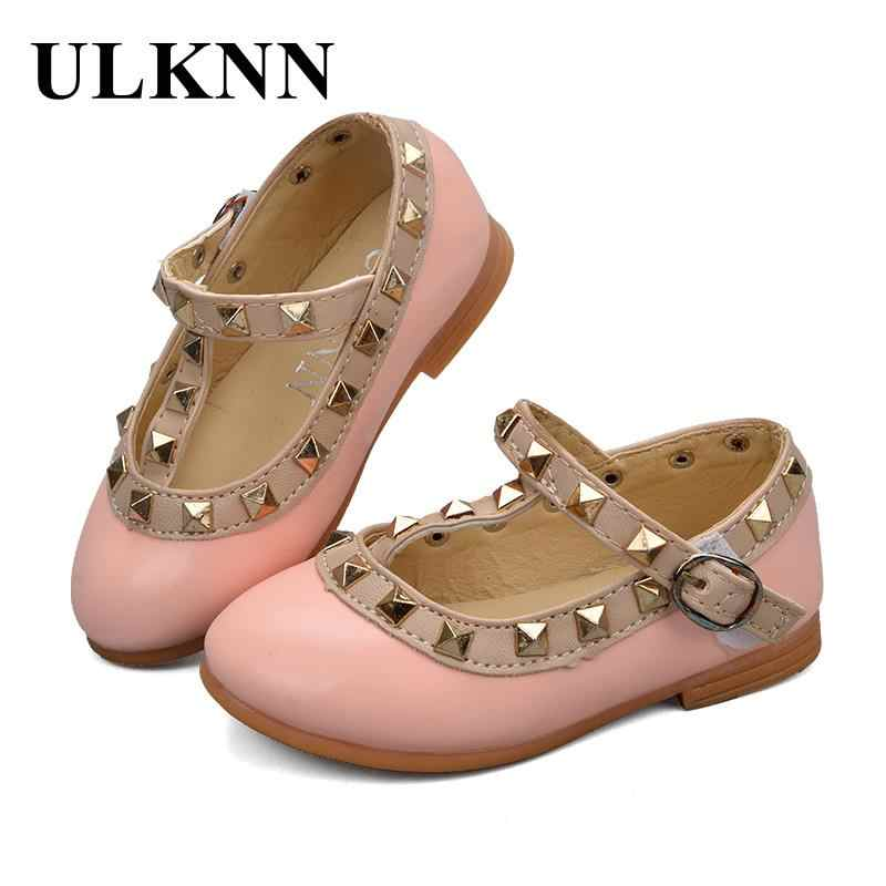 ULKNNเด็กวัยหัดเดินรองเท้าสำหรับสาวเด็กเด็กหนังรองเท้าแฟลตยึดเสื้อสายโรมันG Ladiatorฤดูร้อนเด็กรองเท้าเจ้าหญิงสำหรับสาว