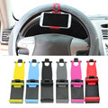 Universal Car Auto Steering Wheel Phone Holder Flexible Mount Bracket GPS Stand Support for iPhone 6S Plus Samsung S7 CS