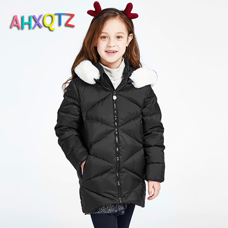 Hot Sales 2016 Children Parka Girls Winter font b Coat b font 90 White Duck Down
