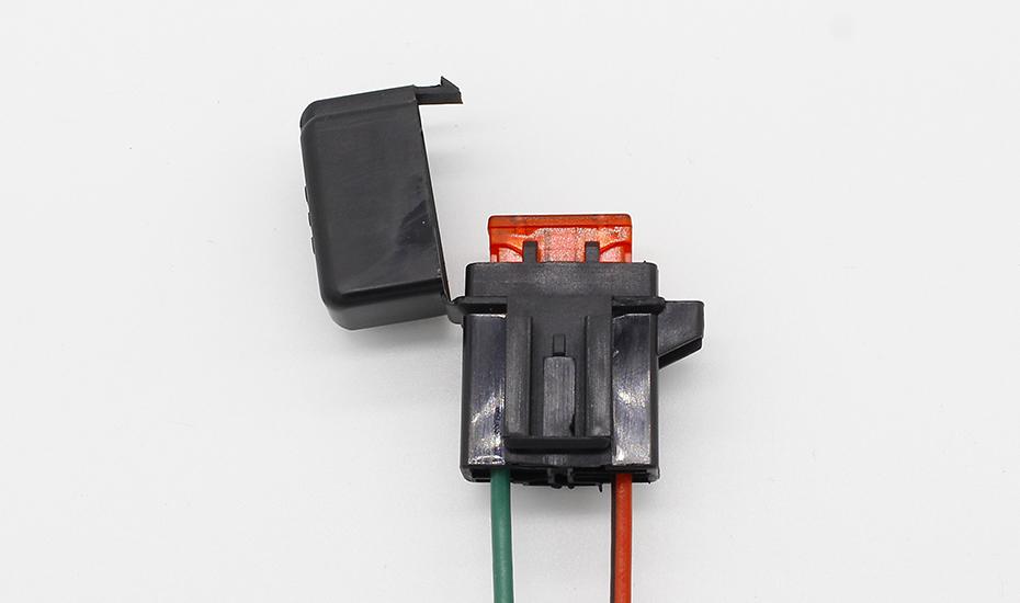 HTB1FG1sQVXXXXbbXVXXq6xXFXXXM - 1PCS ATC Fuse Holder In-line AWG Wire Copper 12V 24V Power Blade