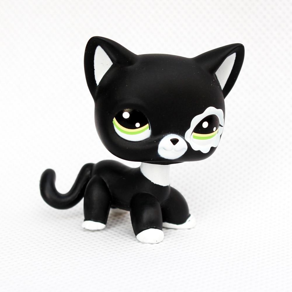 font b pet b font shop lps toys cat 2249 black standing rare short hair