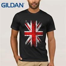 6235c5d8 ENGLAND FLAG Union Jack Vintage T-Shirt S-3XL Britain Flagge United Kingdom UK  Tops Tee Shirts Tshirt For Men men