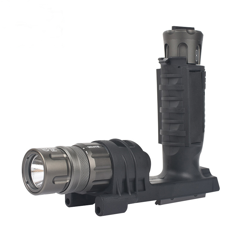 Audacious Seigneer Tatical Led Flashlight Weapon Light Lamp M900v Vertical Foregrip with Sf Lettering Comfortable And Easy To Wear