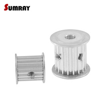 US $9.1 24% OFF|SUMRAY 3M 20T Timing Pulley 4/5/6/6.35/8/10/12mm Bore Timing Belt Pulley 16mm Belt Width 3mm Pitch For HTD 3M Timing Belts 2PCS-in Pulleys from Home Improvement on Aliexpress.com | Alibaba Group