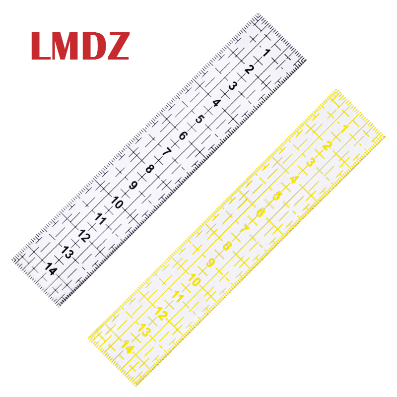 3 Pieces Clear Quilting Yardstick Rulers Patchwork Sewing Ruler Cutting Tool Set Craft DIY Kimnny Sewing Ruler