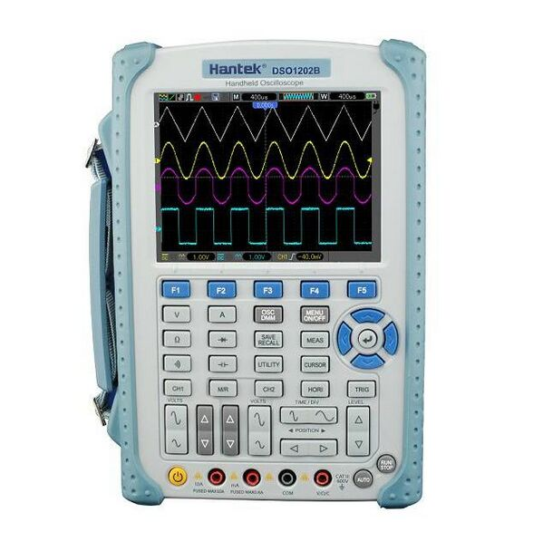 Hantek DSO1202B 2 Channel 1GSa/s Digital Handheld Oscilloscope 5.6 Inch TFT Color LCD Display High Band Width <font><b>200</b></font> <font><b>MHz</b></font> Hot sale image