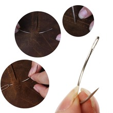 12 Pcs Wig Making Pins Needles Set C Curved Hair Weave For Modelling And Crafts 3.5inch