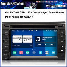 Android Car DVD player FOR VW Passat B5 Jetta Golf 4 Bora Polo GPS Navigation,Speed 3G, enjoy the built-in WiFi