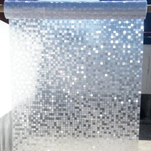 Mosaic glass Film Window Sticker Privacy 3D Self-adhesive film bathroom office Glass door 30/35/40/45/50/55/60/65/70/75/80*100cm